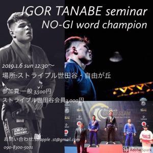 イゴール・タナベ テクニックセミナー