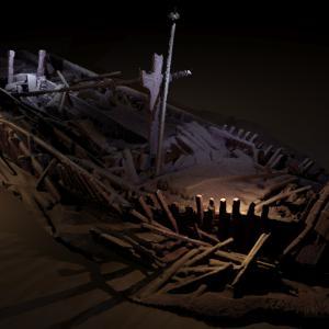 【大洪水】ヨーロッパにある「黒海」の底に沈没している船を発見!崩壊してない舟、これこそが「ノアの方舟」
