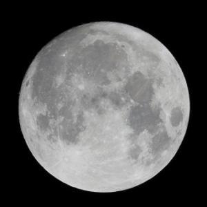 【満月】8日の夜は「スーパームーン」に…約30%明るく見えるようになります!