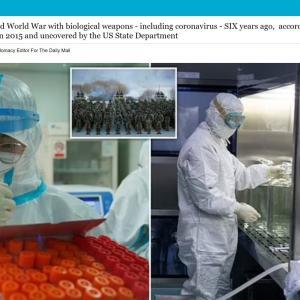 【陰謀論】中国「第3次世界大戦」を計画!6年前からコロナウイルス等の生物兵器を準備…アメリカ国務省の文書で発覚