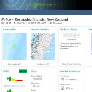 【法則】ニュージーランドで「M6.0」の地震発生…近々、日本に巨大地震が来る