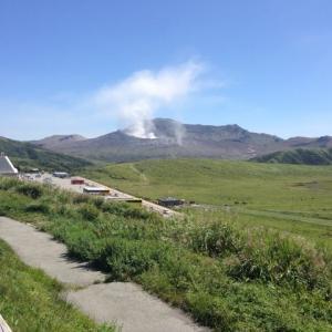 【九州】阿蘇山で小規模噴火が発生…火山活動が高まってるため注意