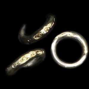 [動画] ガボラトリーのリング,  18kゴールドサダー Gスタンプ リング [Youtube]