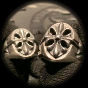 [動画] ガボラトリーのリング,  クロスオーバル シグネットリング [Youtube]