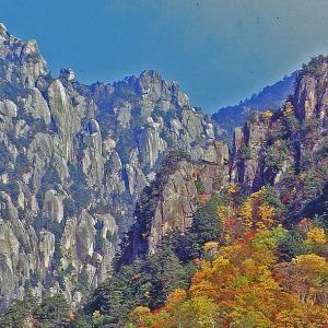 晩秋の瑞牆山