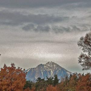 冬の甲斐駒ケ岳望遠