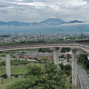 ループ橋の富士山