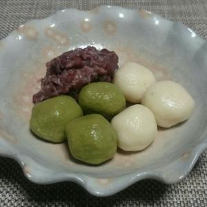 豆腐で白玉団子(レシピ)