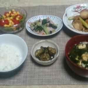 シニア夫婦の晩ご飯