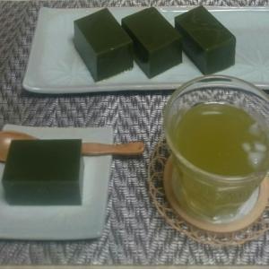 抹茶水羊羹(レシピ)