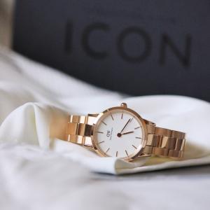 DANIEL WELLINGTON 新作!メタルブレスレットの腕時計。