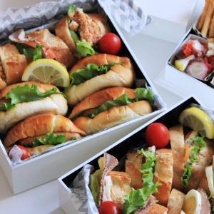 """簡単なのに、映える!運動会の""""サンドイッチ弁当""""が家族に大好評でした♪"""