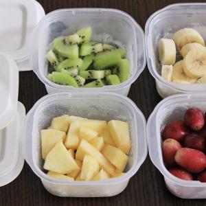 """""""洗いやすくて""""シンプルな保存容器!冷凍フルーツの保存に最適です♪"""