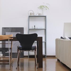 賃貸|新居のリビングインテリア。