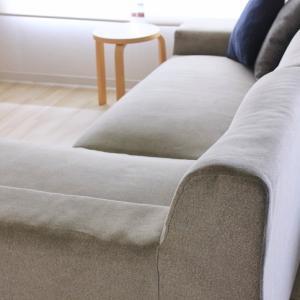 10年目のソファをクリーニング!驚きのBEFORE&AFTER。