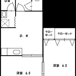 バーディー源氏ハイツ 3B号室(募集中)
