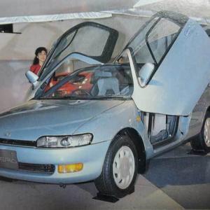 トミカにならなかった「そいなみ車」から  トヨタ・セラ