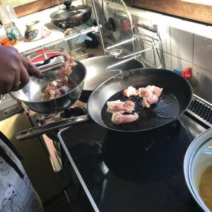 アロマでランチ料理教室