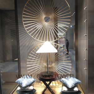 バンブースタイルに輝く銀座アルマーニタワー ジョルジョアルマーニ レストラン インテリア 衣食住