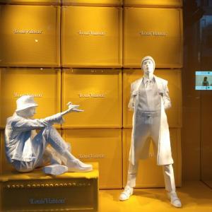 7月28日オープンした 渋谷 ミタシタパーク ルイヴィトン 銀座のお店とは違うブランディング