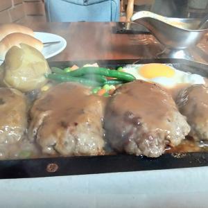でっかいハンバーグが食べたい 渋谷 ゴールドラッシュ 好きなモノをたくさん食べられる幸せ感