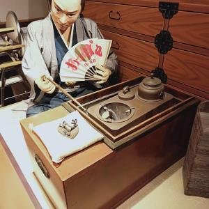 江戸時代へタイムスリップ・・・ 両国 花の舞 江戸東京博物館前店 銭形平次のいるお店