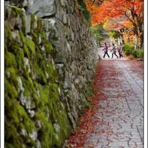 比叡山坂本で撮影実習