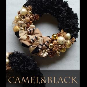bloomish クリスマスレッスン始まりました♪キャメルブラック&ベロアリース