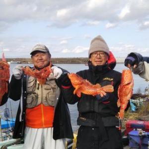 赤系の魚は30匹(笑)