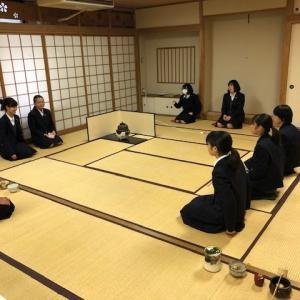 埼玉県民の日お茶会(11月14日)に向けてのお稽古