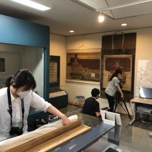 熊谷市指定有形文化財(絵画)「八幡神社古絵図」に関する芝浦工業大学と東京藝術大学研究者による調査