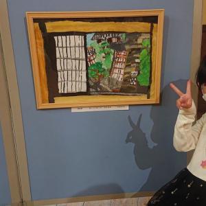 第2回うすき街色絵画教室。 表彰式🎊