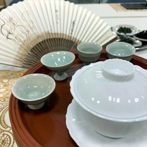 朝日カルチャーセンターくずは 心が躍る夏の中国茶