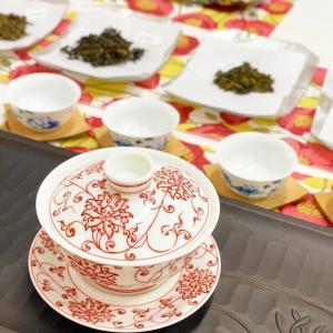 茶遊サロンの『お茶と遊ぶ』 摂津本山Styly中国茶教室