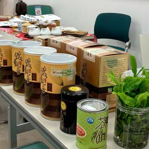 茶遊サロンの台湾茶教室本日開講!