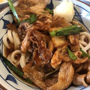 丸亀製麺で豚キムチぶっかけ
