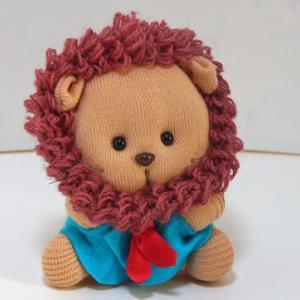 ライオンくん(靴下人形)