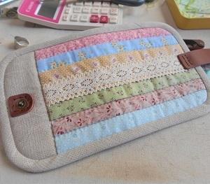 やさしい色のお財布の続き・・・