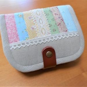 2個目のやさしい色のお財布&お財布キット