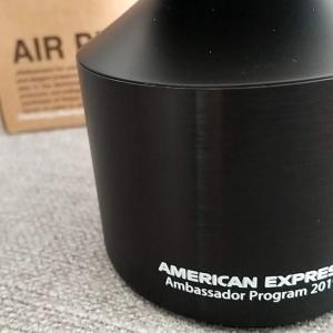 【アメックスアンバサダー・プログラムからギフト届く!】中身はコンパクトな車載用・空気清浄機でした