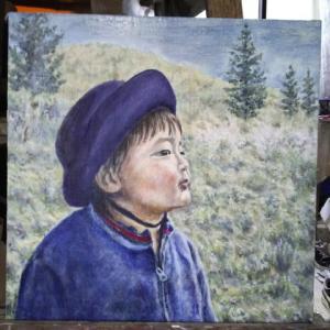絵画グループ展に出品します。