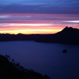 神秘・摩周湖の日の出