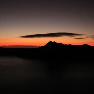 摩周岳の日の出