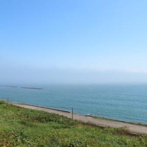 海霧とサンマ