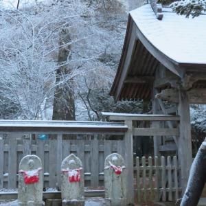 初雪の国泰寺(蝦夷三官寺)