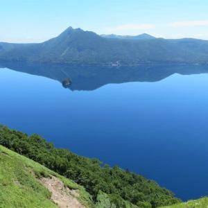 青い摩周湖