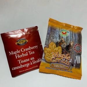 メープルサンドクッキーと紅茶 カナダ土産