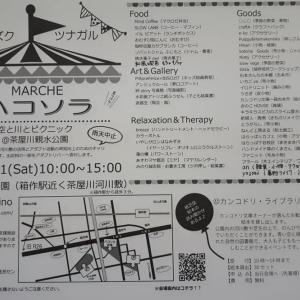 新緑の季節♡5/11(土)はハコソラ!@阪南市茶屋川親水公園