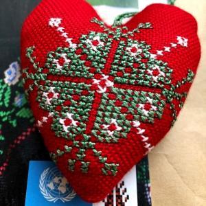 パレスチナ刺繍について学びました
