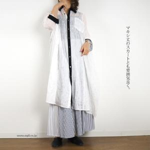 HISUI HIROKOITO ハートに、ダイヤモンド柄のシャツワンピース